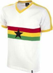 Witte Copa Retro shirt Ghana 1980's maat S