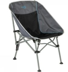 Antraciet-grijze Bo-Camp Vouwstoel - Deluxe - Extra compact