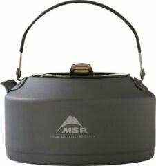 MSR - Pika Teapot - Theekoker maat 1 l, zwart/grijs