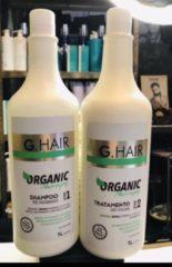 Brazil Keratin G-Hair Organic tratamento organic step 1 & 2