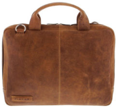 Bruine Plevier-Laptoptassen-Laptopbag 480 14 Inch & 13 Inch Macbook-Bruin