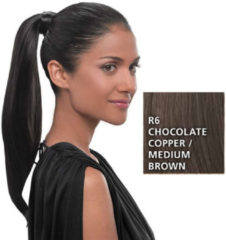 Great Lengths Hairdo Simply Straight Pony R6 Chocolate 45 cm