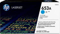 HP 653A - cyaan - origineel - LaserJet - tonercartridge (CF321A)