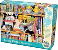 Cobble Hill Legpuzzel Family: Storytime Kitties 350 Stukjes