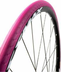 Tannus Buitenband New Slick Airless 28 X 1.00 (25-622) Roze
