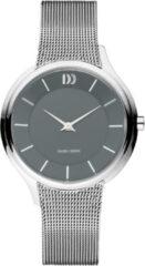 Zilveren Danish Design watches edelstalen dameshorloge Funen Grey IV64Q1194