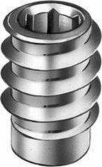 TQ4U Top Quality For You TQ4U inboorhoutmoer | rampa moer | M4 schroefdraad | staal verzinkt | montage dmv inbussleutel | mooie afwerking | 8 STUKS