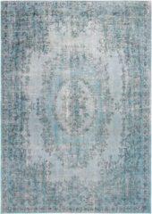 Louis de Poortere - 9140 Palazzo Dandolo Blue Vloerkleed - 140x200 cm - Rechthoekig - Laagpolig, Vintage Tapijt - Oosters, Retro - Blauw