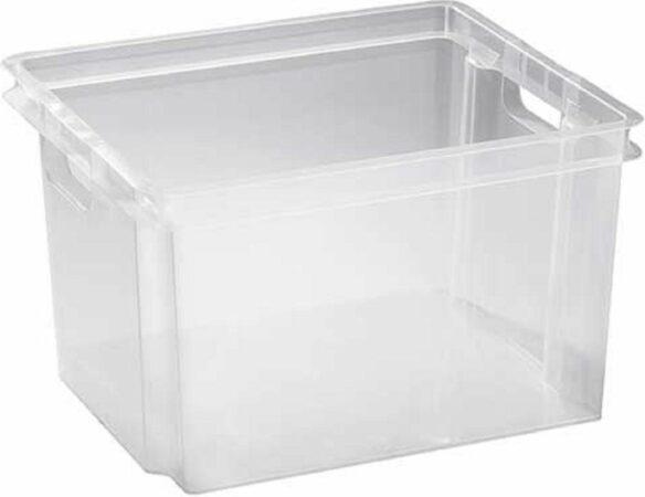 Afbeelding van Keter Crownest - Opbergbox - 30 Liter - 42.6x36.1x26cm - (Set van 5) En Yourkitchen E-kookboek - Heerlijke Smulrecepten