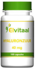How2behealthy Elvitaal Hyaluronzuur 40Mg