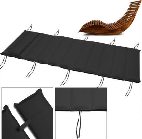 Afbeelding van Antraciet-grijze Merkloos / Sans marque Deuba Flexibele steun voor saunabank, antraciet
