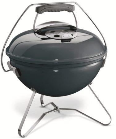 Afbeelding van Blauwe Weber Smokey Joe Premium houtskoolbarbecue - ø 37 cm - blauw