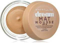 Mousse Make-up Foundation Dream Matt Maybelline (18 ml)