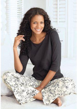 Afbeelding van Zwarte S.Oliver Bodywear pyjama