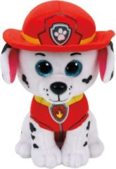 Pluche Paw Patrol knuffel Marshall 15 cm - Cartoon knuffels - Speelgoed voor kinderen