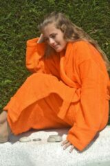 ARTG Robezz® Badjas Sjaalkraag Oranje XXXL