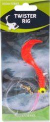 Rode Eurocatch Fishing Raven Twister Rig 1 Haak | Onderlijn