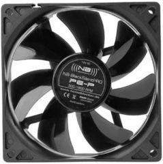 NoiseBlocker BlackSilent Pro PE-P PC-ventilator Zwart (b x h x d) 92 x 92 x 25 mm
