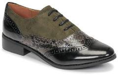 Kaki Nette schoenen Moony Mood NOULIME