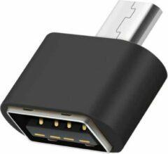 50CAL OTG adapter Micro-USB-B naar USB-A female (zwart)