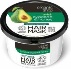Organic Shop - Hair Mask maska rewitalizująca do włosów Awokado & Miód 250ml