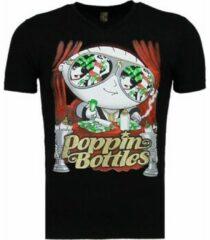 Zwarte T-shirt Korte Mouw Mascherano Poppin Stewie - T-shirt