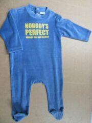 Wiplala pyjama blauw , Nobody's perfect 1 jaar 80