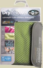 Sea to Summit Drylite Towel Mikrofaser Handtuch Größe M Lime