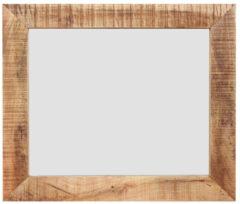 MD Interior Woodz spiegel met houten omlijsting 80x70cm