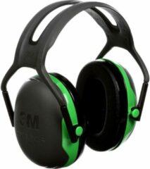 Groene Peltor X1 gehoorbeschermerOorkappen 3M Peltor X1A, met hoofdband