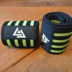 Groene AA LIFESTYLE® SPORTS Wrist Wrap - Fitness - Bodybuilding - Crossfit - Krachttraining - Green