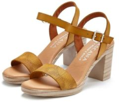 Naturelkleurige LASCANA sandaaltjes