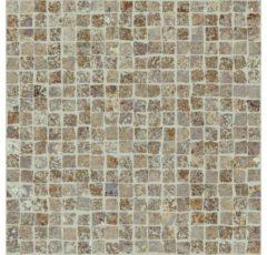 Mozaiek tegel Castelvetro Always 30x30cm Grijs/Beige Gerectificeerd