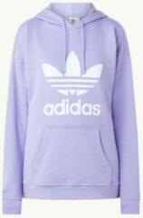Adidas Originals - adicolor - Hoodie met groot logo in paars