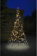 Zwarte Fairybell® Weihnachtsbaum mit Mast, 2 m 300 LEDs