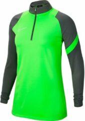Groene Nike Dri-Fit Academy Pro Drill Top Dames