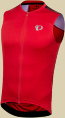 Pearl Izumi Elite Pursuit SL Jersey Men Herren Fahrradtrikot ohne Arm Größe L rogue red diffuse