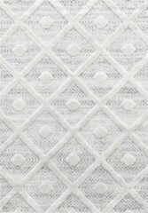 Pisa Modern Design Vloerkleed Laagpolig Grijs- 80x150 CM