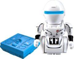Silverlit Silentforce Rc Robot Mini Droid One 6 X 7 Cm Wit/blauw 2-delig
