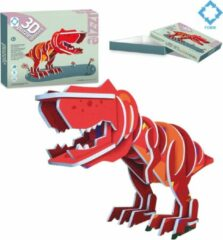 FDBW Puzzel Dino Verzameling | 3D Puzzel T-Rex – 3 jaar | Dinosaurus Speelgoed 3 Jaar | Dinosaurus Puzzel 3 D