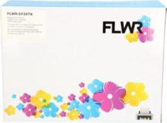 FLWR 87X zwart (Huismerk compatible) geschikt voor HP