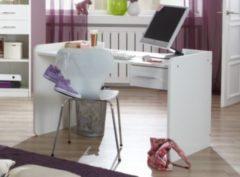 Schreibtisch alpinweiss/ Strasskristall Wimex Nightlight