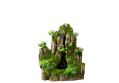 Aqua Della Decor Waterfall Moss Rock - Aquarium - Ornament - 25.5x18x31 cm Small