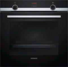Roestvrijstalen Siemens HB513ABR1 inbouw oven 60 cm hoog met 3D Hetelucht Plus