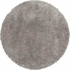 Impression Himalaya Pearl Soft Rond Shaggy Hoogpolig Vloerkleed Beige - 120 CM ROND