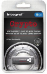 JUST RAMS PLC JUST RAMS Integral Crypto Drive - USB-Flash-Laufwerk INFD16GCRYPTO197