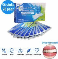 Transparante CM Lifestyle Tandenbleek Strips - 28 Paar - Halfjaar Volume - Tanden Bleken - Witte Tanden - Bleken - Tanden - Bleek Strips - Teeth Whitening Strips - Zonder Peroxide - 100% Natuurlijk - Mint Smaak - Veilig Bleekmiddel - Vernieuwde Formule -