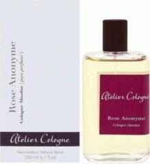 Atelier Cologne Rose Anonyme, Cologne Absolue, 200 ml eau de cologne Vrouwen