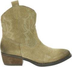 Beige Nelson dames cowboylaars - Sand - Maat 40