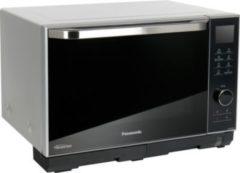 Panasonic Dampf-/ Grill-/ Kombinationsmikrowelle NN-DS596MEPG, Mit Grill, 27 Liter, 1000 Watt